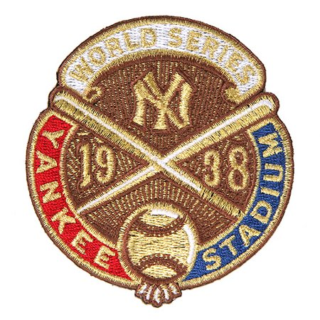 New York Yankees 1938 World Series Anniversary and Commemorative Patch - No Size