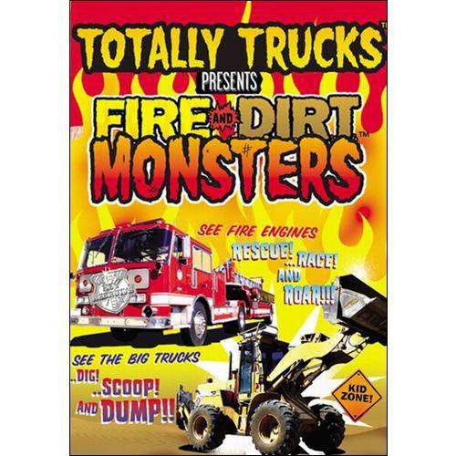 Totally Trucks: Fire And Dirt Monsters