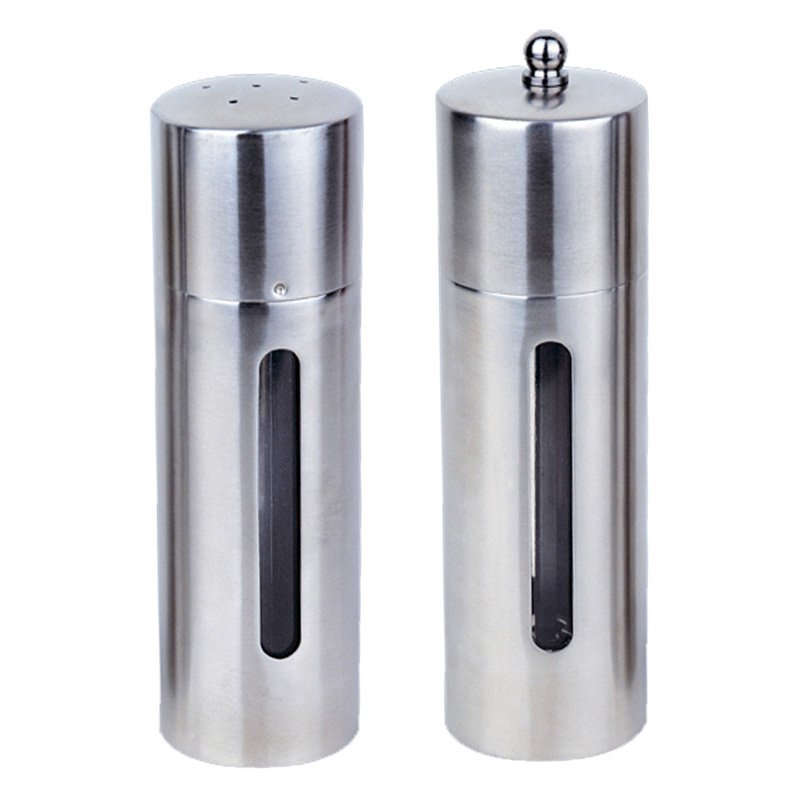 BergHOFF Round 2 Piece Salt and Pepper Mill Set by BergHOFF