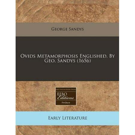 Ovids Metamorphosis Englished  By Geo  Sandys  1656