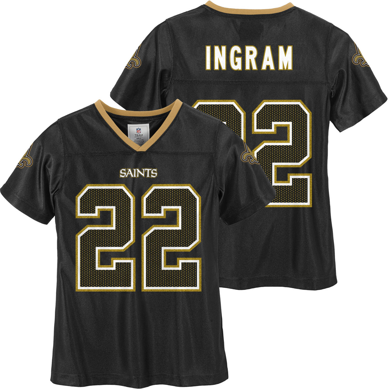 NFL New Orleans Saints Girls Mark Ingram Jersey