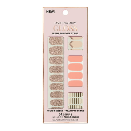 Dashing Diva Gloss Ultra Shine Gel Strip In The Blush