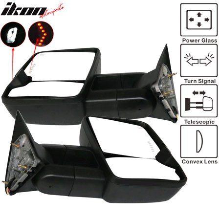 Turn Signal Mirror Lights Arrows (Fits 88-98 C1500 Towing Mirrors Power Turn Signal Arrow Clearance Light)