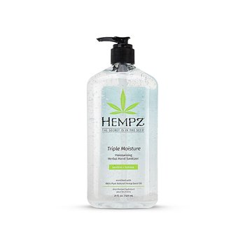 Hempz Gel Herbal Triple Moisture 21 oz. Hand Sanitizer