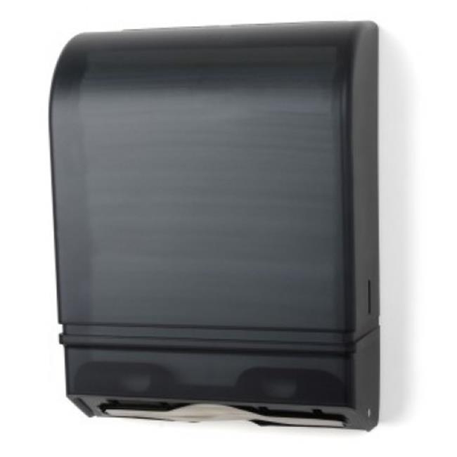 E-Z Taping System TD0175-01 Multi/C Fold Towel Dispenser in Dark Translucent