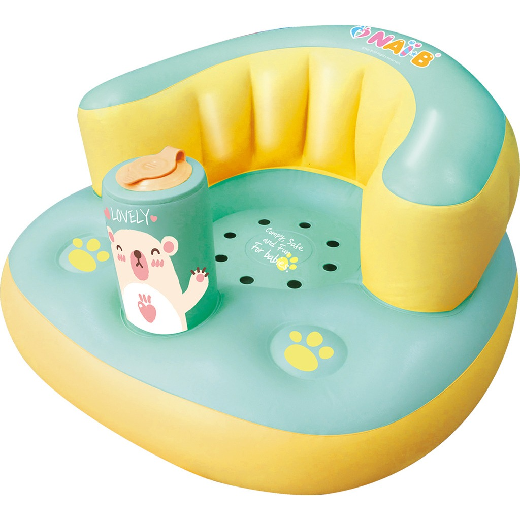 Nai-B Hamster Inflatable Baby Seat - Mint