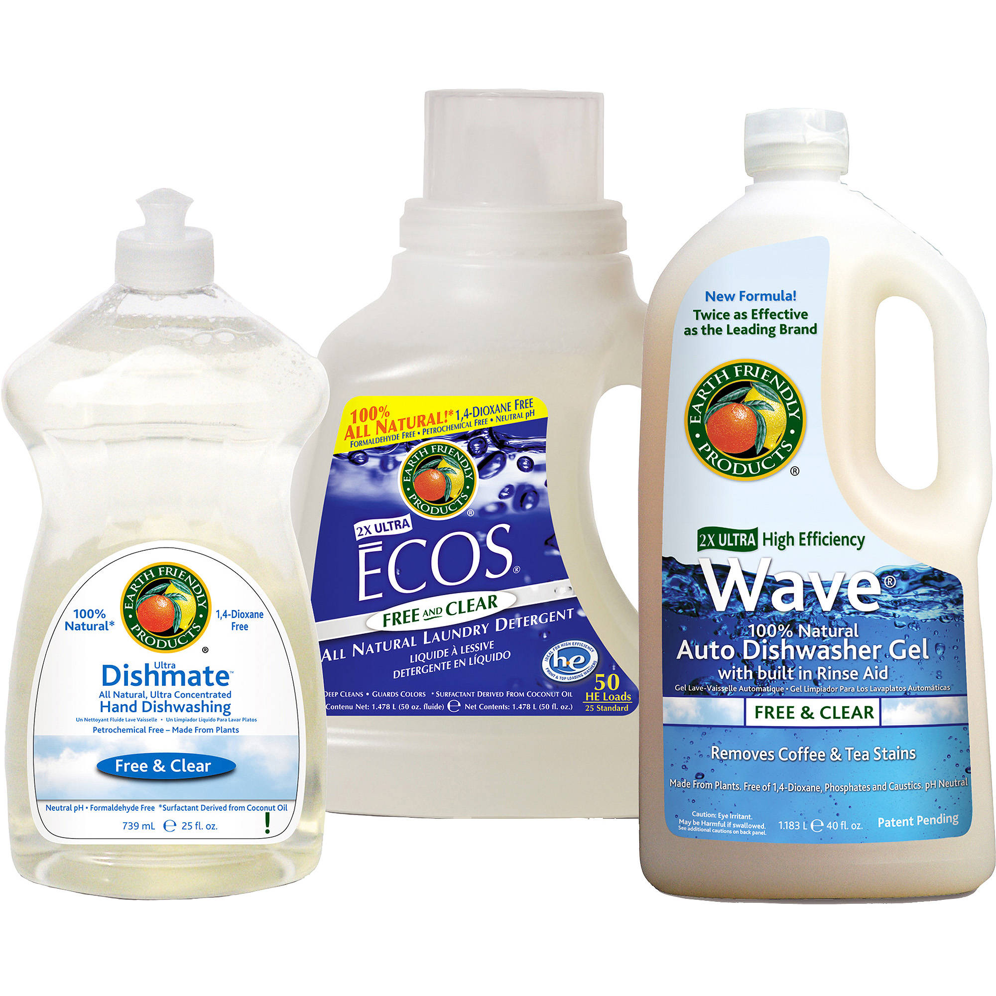 Earth Friendly Products Free & Clear Kit, 1ct