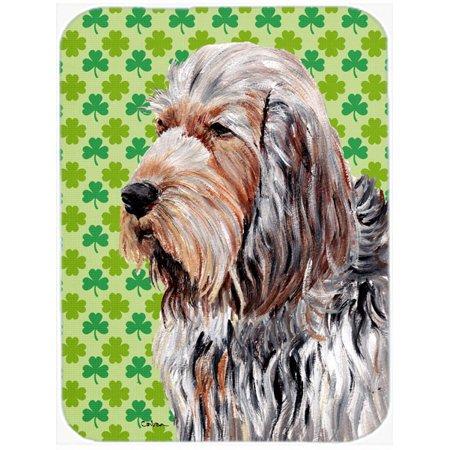 Otterhound Lucky Shamrock St. Patrick's Day Mouse Pad, Hot Pad or Trivet SC9732MP