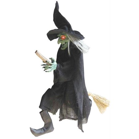 Costumes For All Occasions Ss87258 Witch Hanging On A Broom - Diy Witch Broom