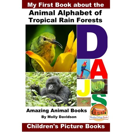 Rainforest Animal Pictures - My First Book about the Animal Alphabet of Tropical Rain Forests: Amazing Animal Books - Children's Picture Books - eBook