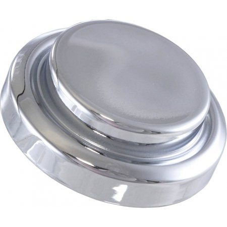 Master Cylinder Top Cover (Eckler's Premier  Products 25-105076 Premier  Products, Master Cylinder Cap Cover, Short Top, Chrome| E-30379 Corvette)