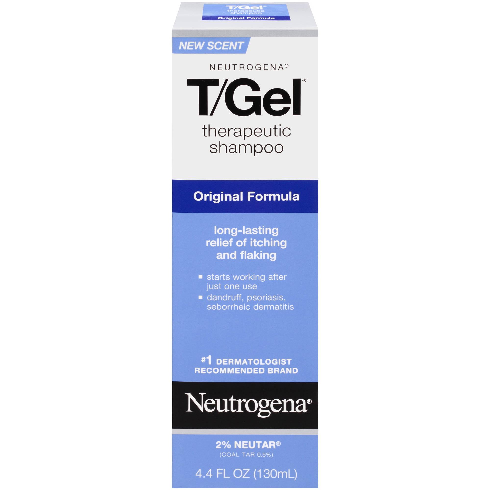 Neutrogena T/Gel Original Formula Therapeutic Shampoo 4.4 Oz