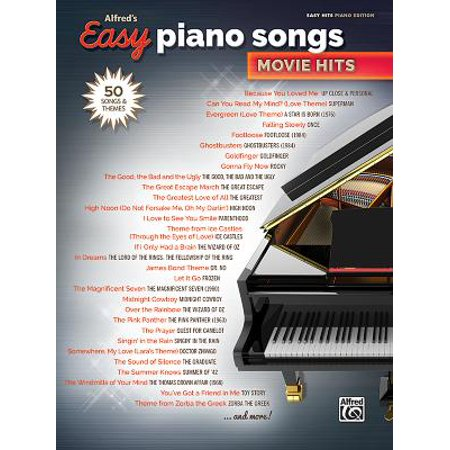 Alfred's Easy Piano Songs -- Movie Hits : 50 Songs and Themes