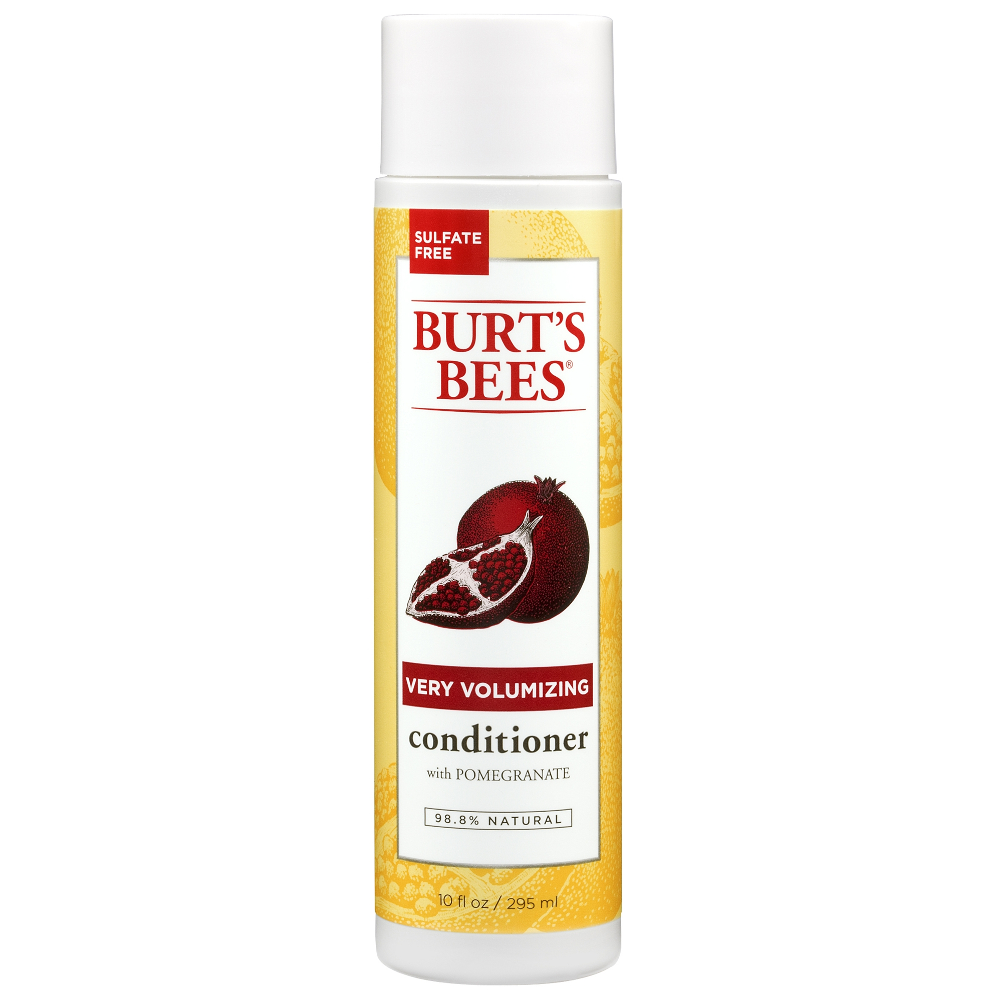 Burt's Bees Very Volumizing Conditioner, Pomegranate Scent, 10 oz