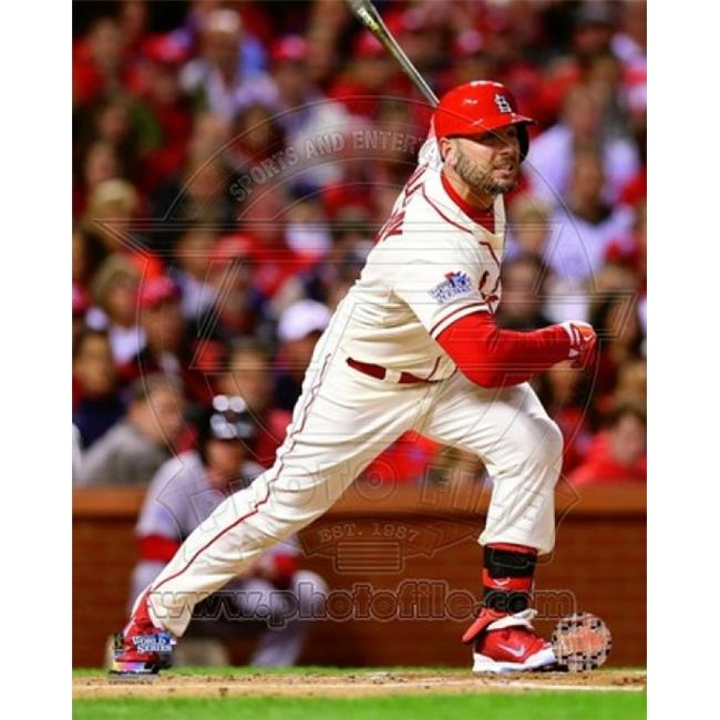 Photofile PFSAAQI11401 Matt Holliday RBI Single Game 3 of the 2013 World Series Sports Photo - 8 x 10 - image 1 of 1