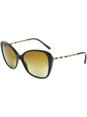 59e9641cb Product Image Burberry Women's Gradient BE4235Q-3001T5-57 Black Square  Sunglasses