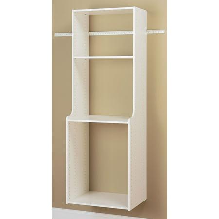 easy track rv2072 easy track white hanging hutch kit. Black Bedroom Furniture Sets. Home Design Ideas