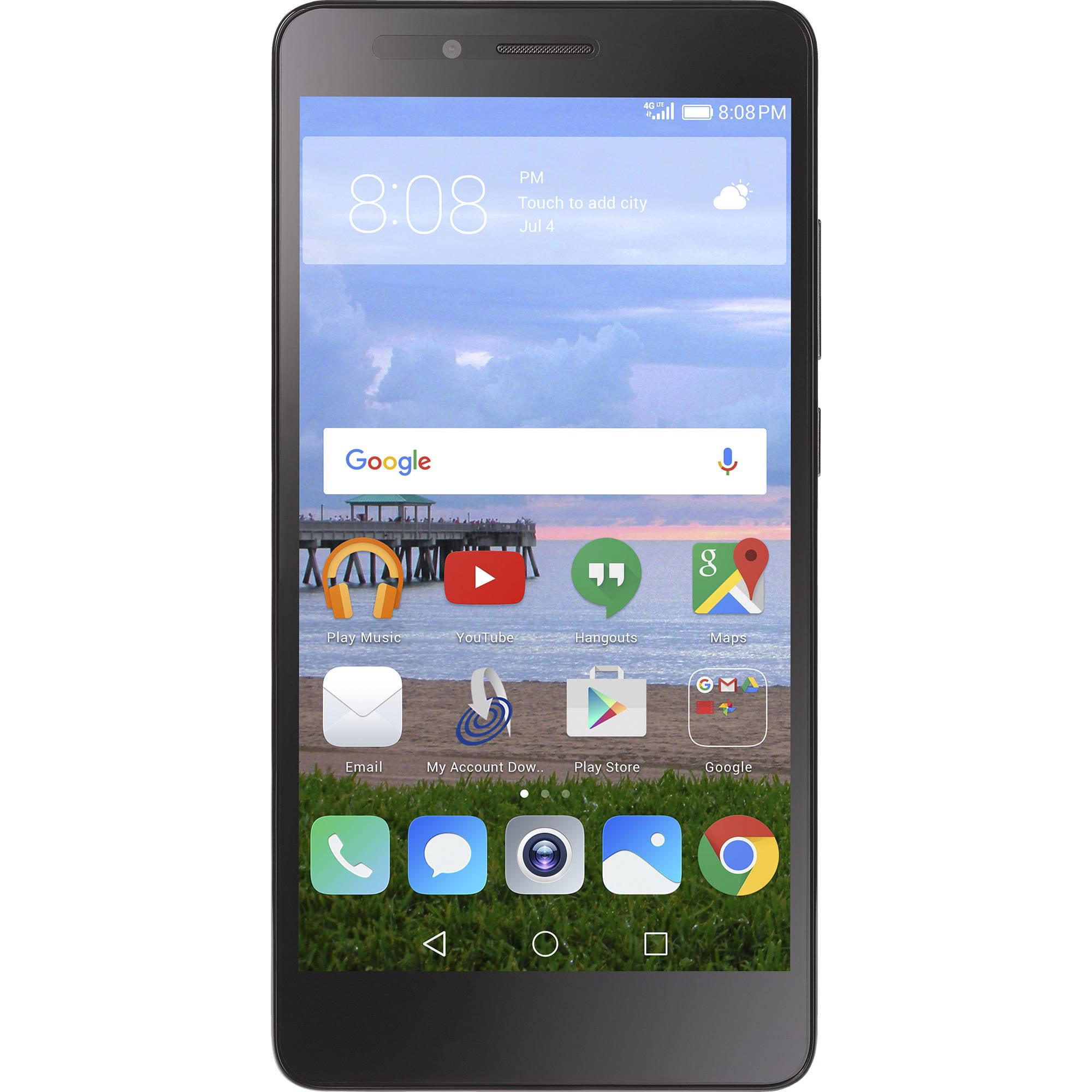 Straight Talk Huawei Sensa 16GB Prepaid Smartphone, Gray