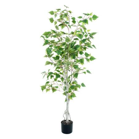 Pure Garden 5' Birch Artificial Tree ()