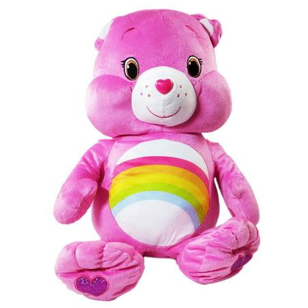 Care Bears Kids Pillow Buddy Cheer Bear Comfort and Play Plush Toy](Care Bears Wish Bear)