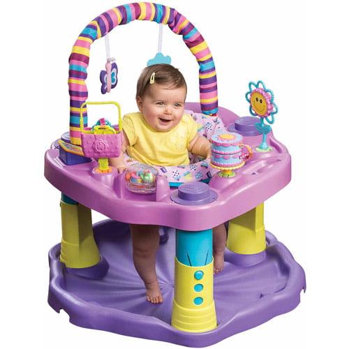 6ff97e95e Evenflo Baby Walker Safety Activity Center Exersaucer Bounce Learn ...