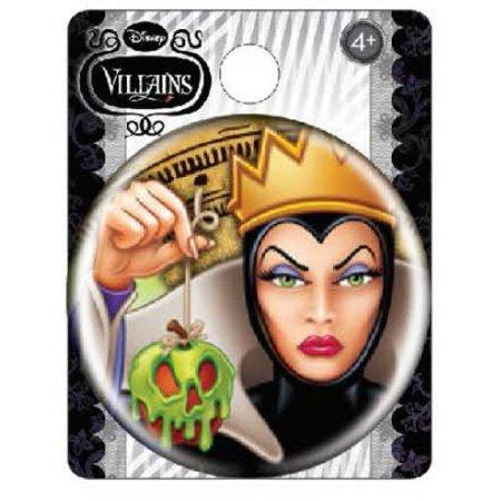 Evil Queen Disney Villians Button Pin