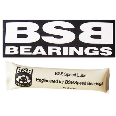 Bsb One Tool (BSB SPEED OIL BEARINGS INLINE SKATE High Speed Lubricant 1/4 Fluid Oz Tube)
