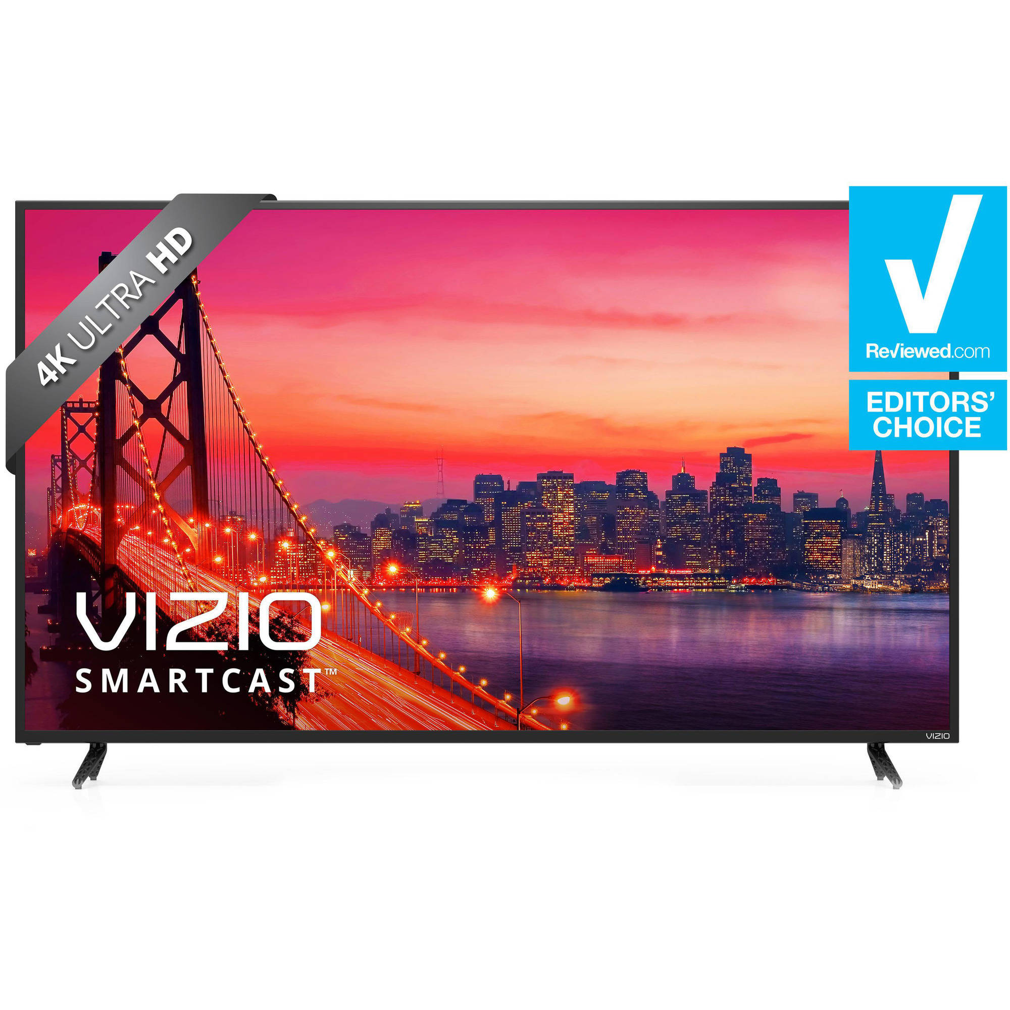 "Refurbished Vizio 55"" Class 4K (2160P) Smart LED Home Theater Display (E55-E1)"