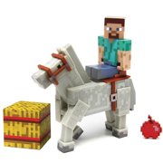 Minecraft Steve with Horse Action Figure