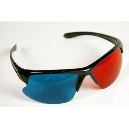 3D Glasses ANACHROME(TM)- Red and Cyan Anaglyph Glasses for NASA MARS STEREO Viewing (1 Pair, Plastic), Quality plastic frames with acrylic lenses for.., By 3Dstereo Glasses (Anachrome 3d Glasses)