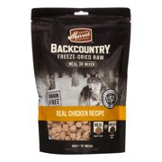 Merrick Backcountry Grain-Free Freeze-Dried Real Chicken Recipe Dog Food, 5.5 oz