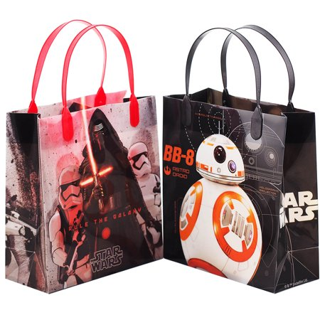 Star Wars 12 Rule The Galaxy Party Favor Reusable Goodie Medium Gift Bags 8