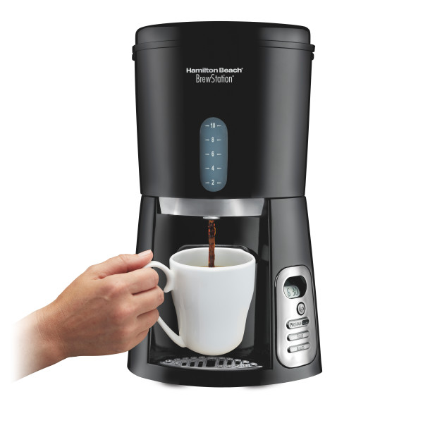 Hamilton Beach BrewStation 10 Cup Coffeemaker | Model# 47380