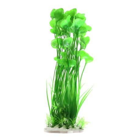 Green Plastic Aquatic Plant Betta Tank Fishbowl Aqua Landscape Decor Ornament