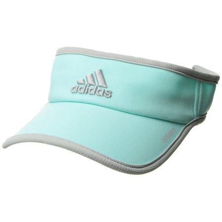 adidas Women's Adizero II Visor, Energy Aqua/Clear Onix, One Size