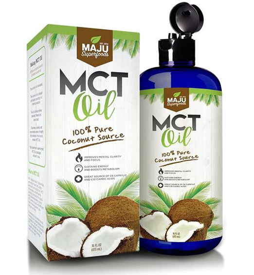 MAJU's MCT Oil - 100% Coconut Source, Made for Coffee