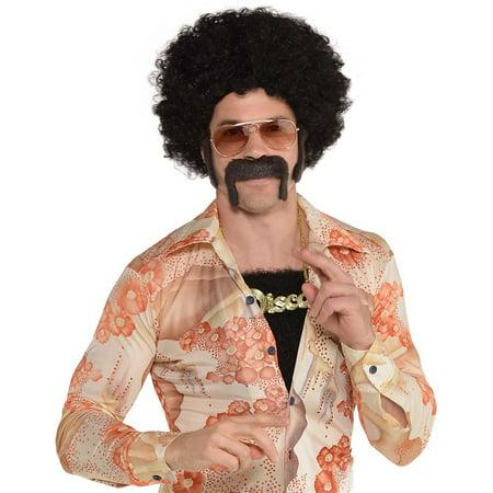 Disco Suit Costume (Disco Kit Adult Costume Accessory)