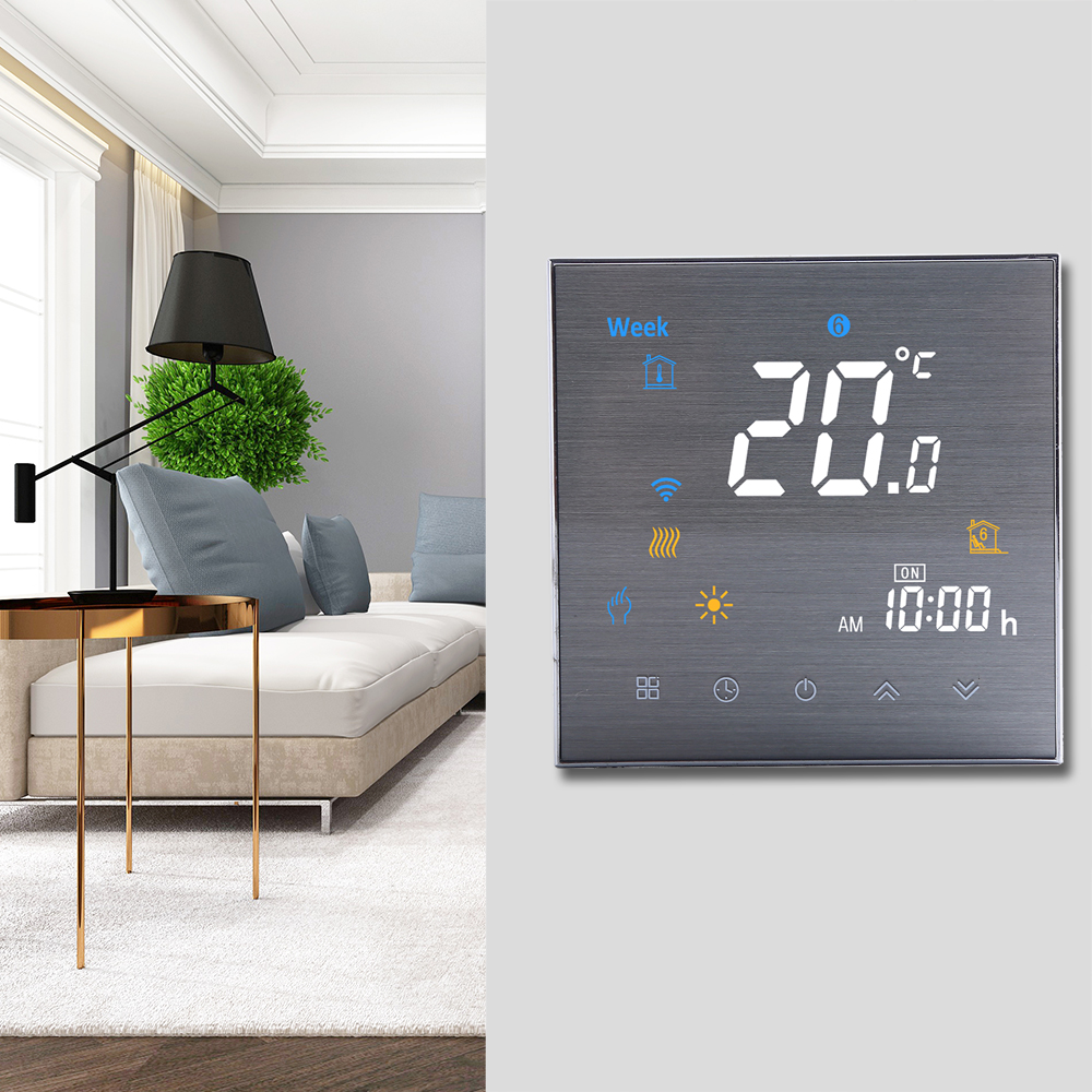 BTH-3000L-GCLW WiFi Smart Thermostat for Water//Gas Boiler Digital M7L3