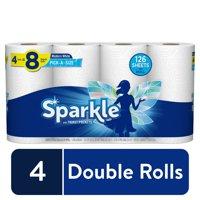 Sparkle Pick-A-Size Paper Towels, 4 Double Rolls
