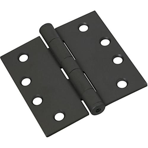 DOOR HINGES 4IN ORB LACQUERED