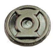 """Green Lantern Logo .75"""" Pewter Lapel Pin"""