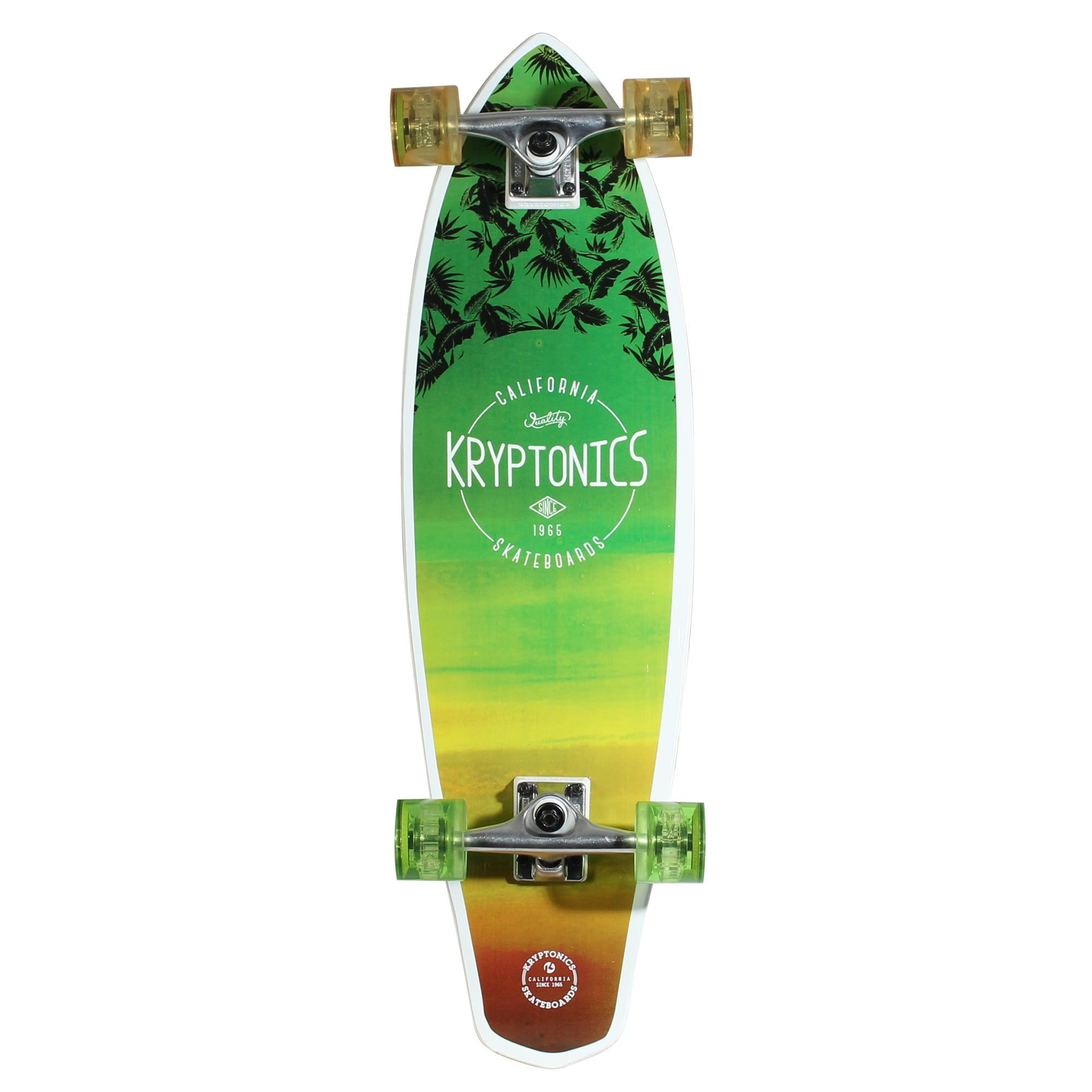 Kryptonics 32-inch Mini Longboard Skateboard by Overstock