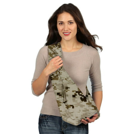 Maya Baby Sling Pattern (HugaMonkey Camouflage Brown Military Baby Carrier Sling - Large )