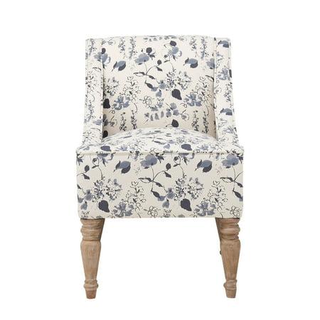 Better Homes & Gardens Swoop Arm Chair, Blue
