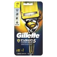 Gillette Fusion5 ProShield Mens Razor, Handle & 2 Blade Refills