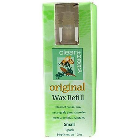 Clean + Easy Original Small Face Wax Refills, 1.2 Ounce (Original Wax)