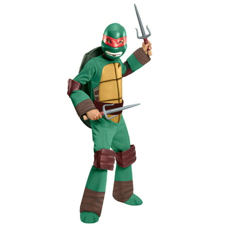 TMNT - Raphael Child Costume (Ninja Turtle Dress Up)