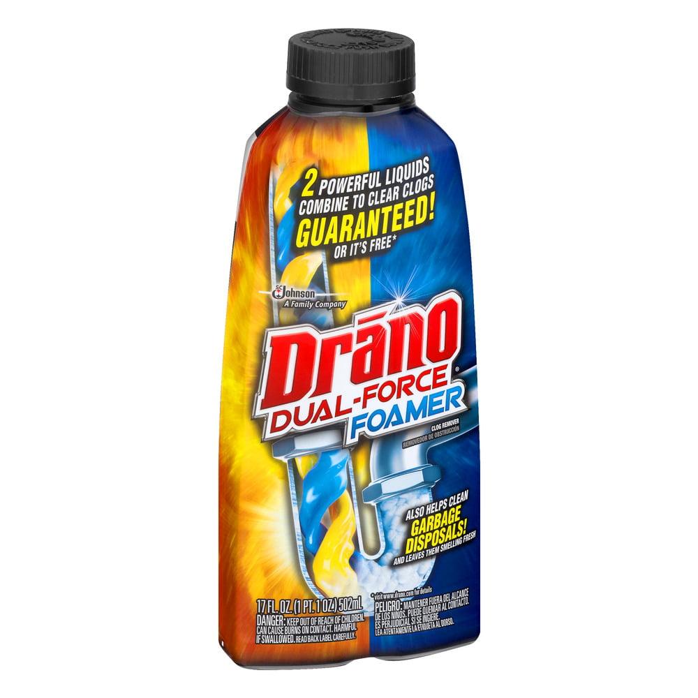 Drano FOAMING LIQ.-17oz