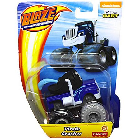 Monster Pirate (Pirate Crusher and The Monster Machines Diecast )