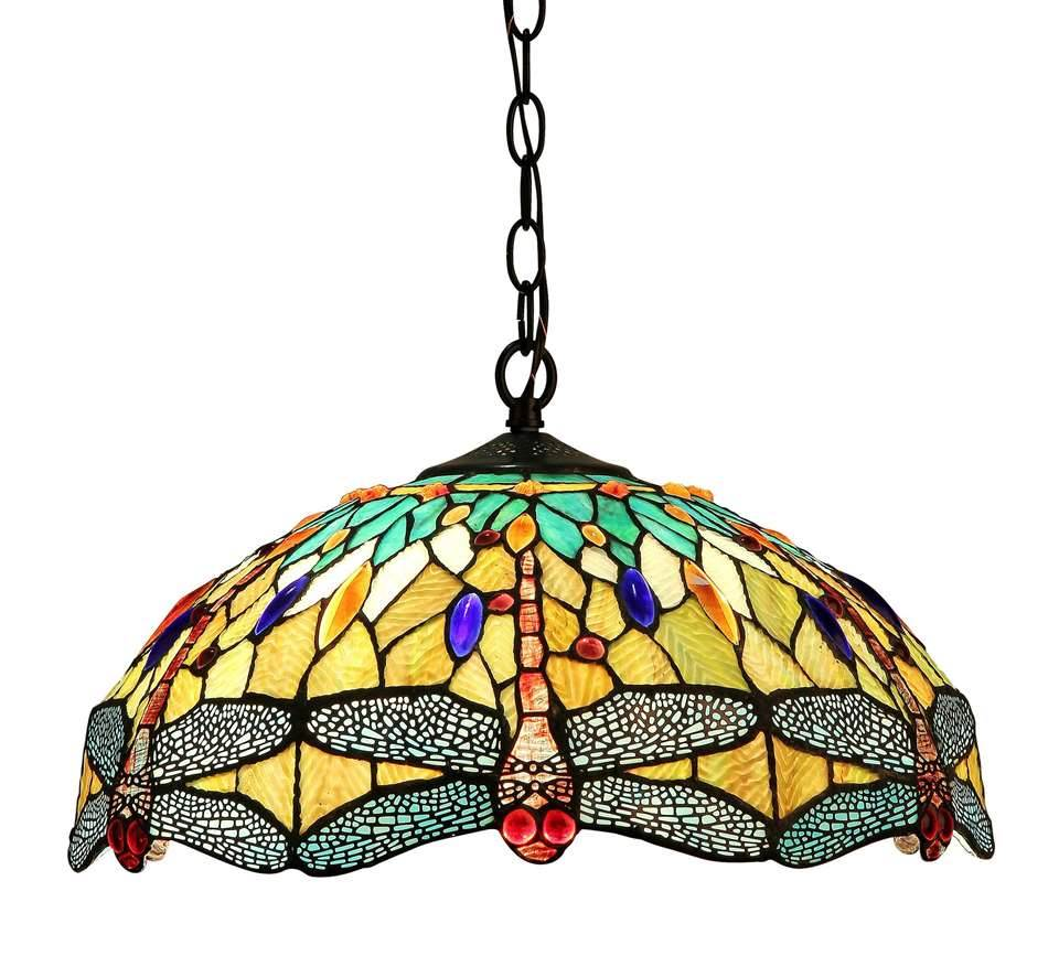 Empress Dragonfly 2 Light Ceiling Pendant